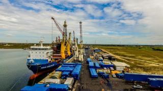 BBC Amethyst - First vessel to make big crossing from Antwerp to Brazilian port of Açu
