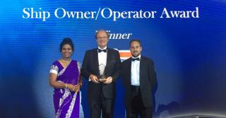"APL Honoured with ""Ship Operator Award"" at Seatrade Maritime Awards Asia 2018"