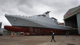 BAE reveals first Royal Navy offshore patrol vessel HMS Forth ahead of launch