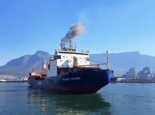FESCO vessel completed loading in Cape Town and went to Antarctica