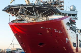 Damen Shiprepair Amsterdam Completes Major Maintenance Programme on OSV Deep Arctic