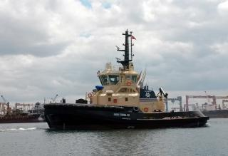 Turkish tug builder Sanmar delivers a powerful tug to Forth Estuary Towage (FET) in Scotland