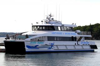 Incat Crowther delivers high end catamaran ferries to service Bar Harbor