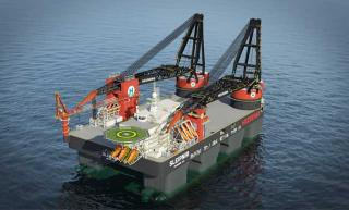 Rolls-Royce to deliver mooring system for giant crane vessel