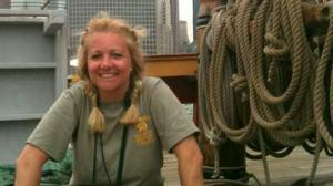Mourning for HMS Bounty:a female crew member Dies at hospital