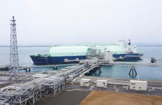 "LNG Tanker ""Oceanic Breeze"" Makes First Call at Naoetsu LNG Terminal, Japan"