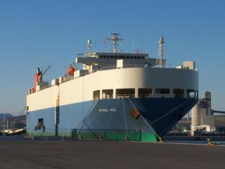 MOL car carrier rescues fishermen in the South China Sea