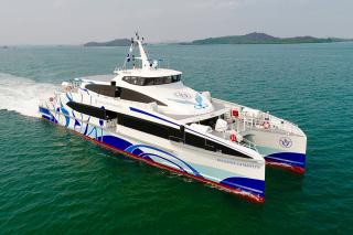 Incat Crowther 42 is a Fast Efficient HSC Ferry