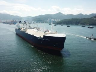 Ice-Class LNG carrier Rudolph Samoylovich delivered to customer