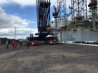ALE's agreement with Port of Dundee and OM Heavy Lift increases port service for renewables sector