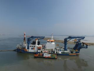 Anaklia Deep Sea Port marine works awarded to Van Oord