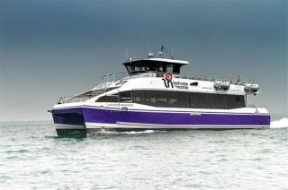 A new catamaran for Scotland from Wight Shipyard Co