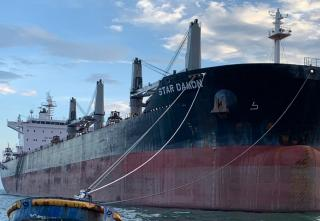 Supramax Bulk Carrier Star Damon joins GriegMaas Fleet
