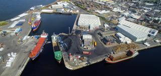 ABP invests £2.2 million in new agribulk terminal at Port of Ayr