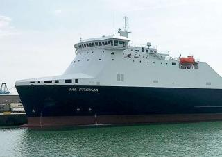 Stena Foreteller replacement, Mann Lines ML Freya, arrives in Turku on January 5th