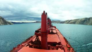 ESL Shipping's Supramax bulker Arkadia heads back to the Canadian Arctic