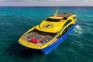 Ultramar Takes Delivery of Second High-end 48m Catamaran Ferry