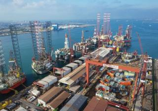 Keppel delivers fourth enhanced KFELS Super A Class unit to EnscoRowan