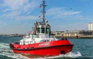 Kotug Smit Towage Performs naming ceremony for tug Buffalo