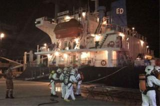 Gas leak on cargo ship Vimaru Pearl leaves one dead, three fighting for lives at Kota Kinabalu hospital (Video)