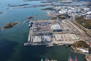 Gigantic Load To Be Shipped From The Port Of Gothenburg