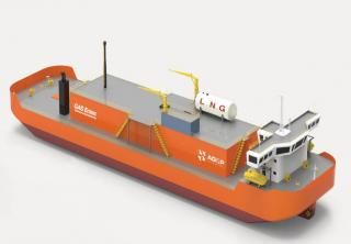 AG&P unveils the first ultra-shallow draft small LNG carrier work horse for Southeast Asia's stranded power markets