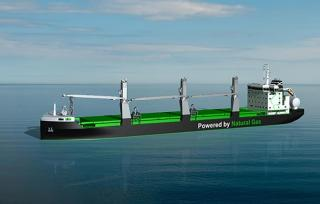 ESL Shipping Secures Funds for New LNG-Powered Bulkers