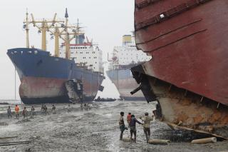Maersk to scrap ships at certain Indian beach sites, NGO dismayed