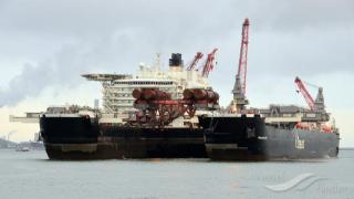 Video: World's largest ship Pioneering Spirit departs for first job