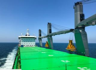 ESL Shipping Welcomes LNG-Fueled Bulker into Its Fleet