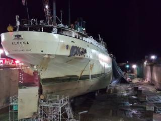 Update: Four injured people in Alpena fire incident; Ship severely damaged