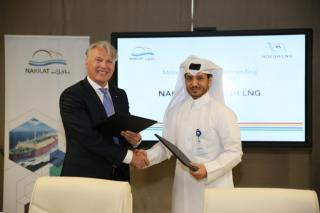 Nakilat and Höegh LNG sign MoU to collaborate on FSRU projects