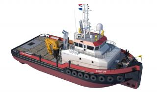 First diesel-electric Damen Shoalbuster 3514 DP2, IMO Tier 3 ordered by Herman Sr