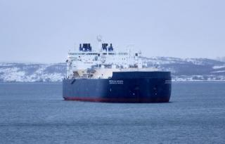 Russia's first ice-breaking LNG carrier Christophe de Margerie heads for ice trials