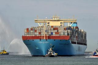 ABS Chosen To Class Maersk's Biggest Boxships
