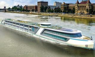 MV WERFTEN delivers Crystal Bach - World's Most Luxurious River Ship
