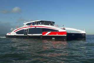 Danube High-Speed Low-Wash Ferry Offers New Level of Efficiency and Reliability