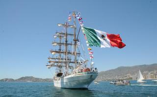 Mexican Navy Training Ship Sets Sail for 14 countries