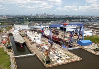 Philly Shipyard Celebrates Keel Laying Milestone for Second Product Tanker for Kinder Morgan
