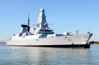 Engine refit of UK Royal Navy's combat ship to cost tens of millions (Video)