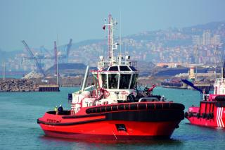 Successful Sea Trials Of 3080 ASD Tug Built By Med Marine For Tug Malta