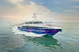 Incat Crowther delivers high-end monohull passenger ferry to New Caledonia