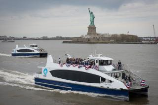 First NYC Ferry Takes to the Water in the Big Apple