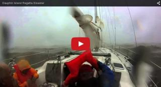 Two dead and five missing as sailing regatta was hit by a storm, video