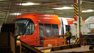 Newcastle welcomes ro-ro shipment for Newcastle Light Rail project
