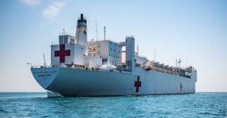 US to send hospital ship to Colombia amid refugee crisis