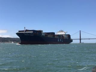 Containership President Kennedy Makes Maiden Vessel Call at Yokohama