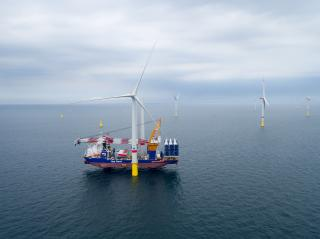 Aeolus completes turbine installation at Deutsche Bucht offshore wind farm