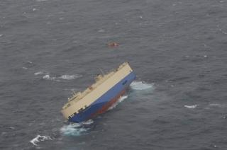 Vehicles Carrier Modern Express disabled with heavy list in Bay of Biscay; Crew evacuated (Video)
