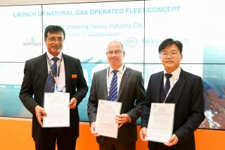"Flexible and Modular ""Natural gas operating fleet"" concept receives Approval in Principle"